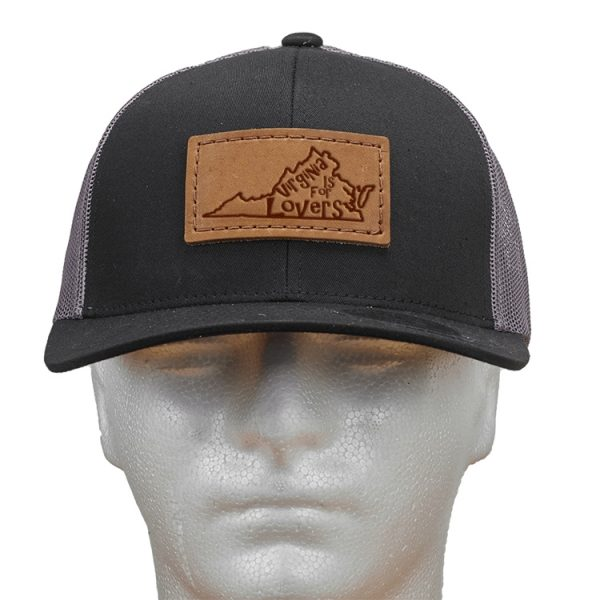 Trucker Snapback with Patch: VA is for Lovers