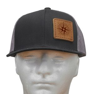 Trucker Snapback with Patch: Compass Rose