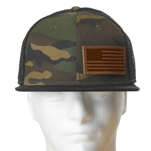 Decorative Hat with Patch: American Flag