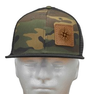 Decorative Hat with Patch: Compass Rose