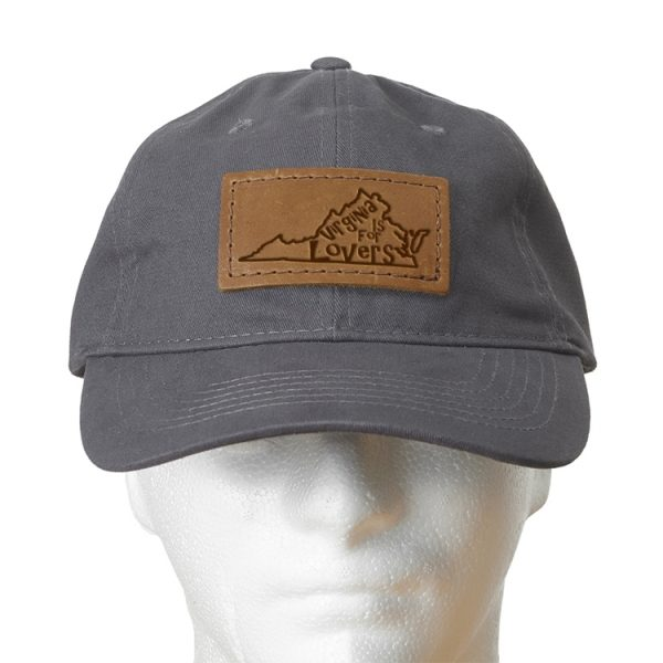 Chino Unstructured Hat with Patch: NC Heart