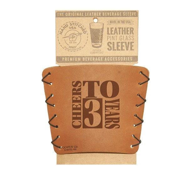 Pint Holder: Cheers to 3 Years; Box Set