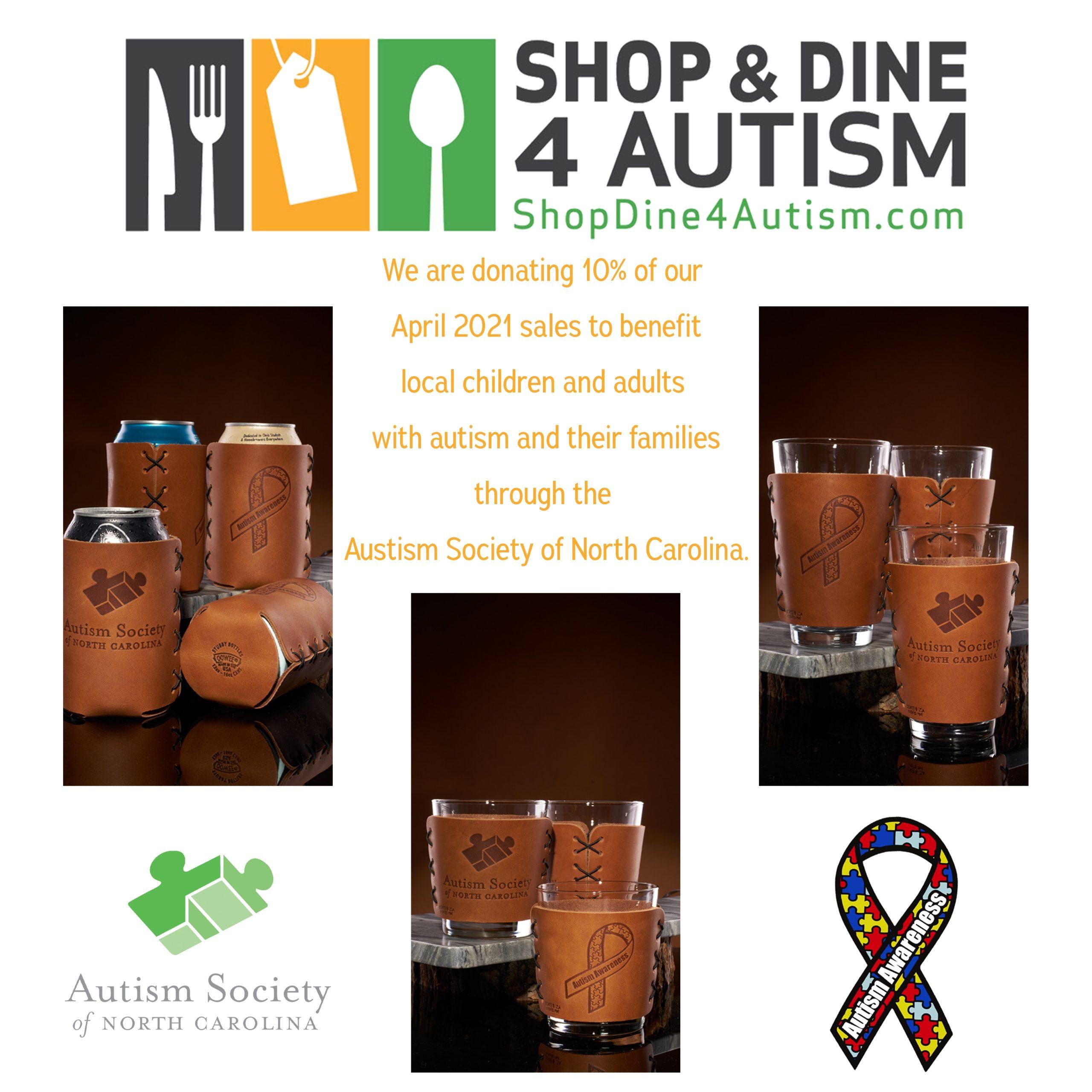 Can Holder: Autism Awareness