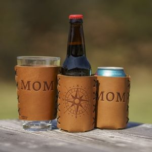 Leather Bottle Holder: Mothers Compass