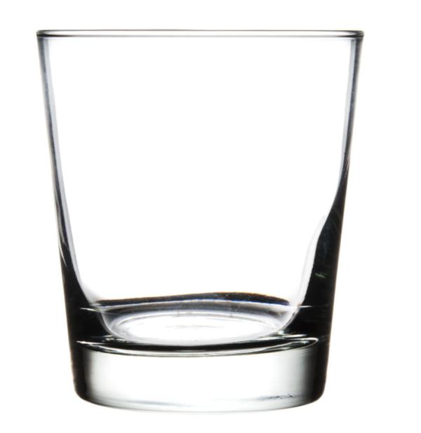 English Hi-Ball Glass; 13-oz Heavy Base Libbey Glassware Set of 2